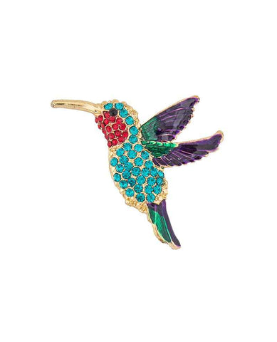 Brooch - Hummingbird 6903