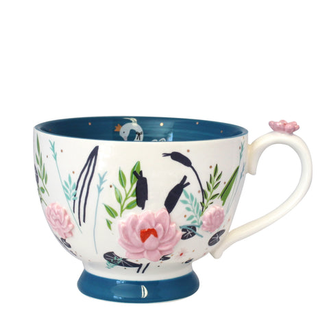 Disaster Secret Garden Swan Teacup with Gift Box 8354