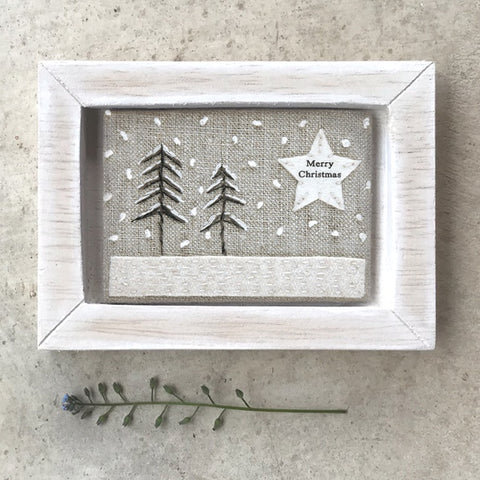 Embroidered Picture - Merry Christmas 10627