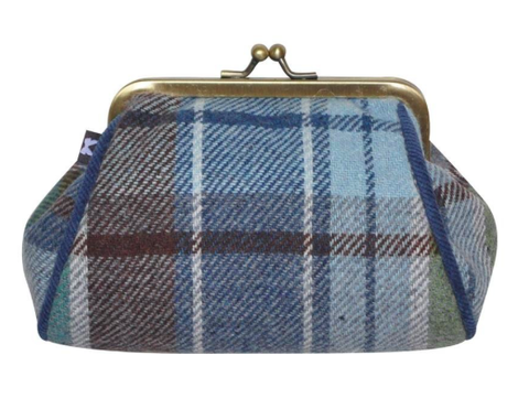Earth Squared Tweed Lara Purse - Harbour 8379