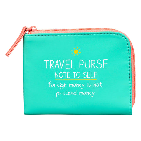 Travel Purse - Note To Self 7397