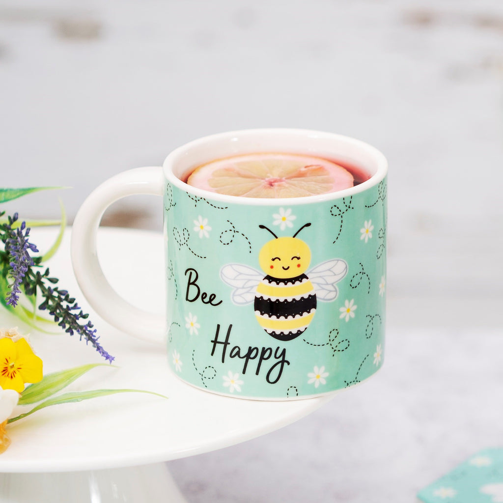 Porcelain Mug - Queen Bee Happy 8850