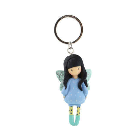 Gorjuss Moulded Keyring - Bubble Fairy 8687