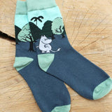 Disaster Moomin Sock - Tree Print 9406