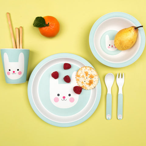 Bamboo Tableware Children's Set - Bonnie the Bunny 11208