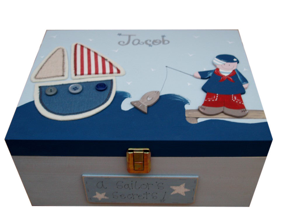 Keepsake Box Lg - Sailor 3691