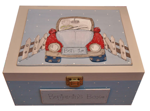 Keepsake Box Lg - Car 3692