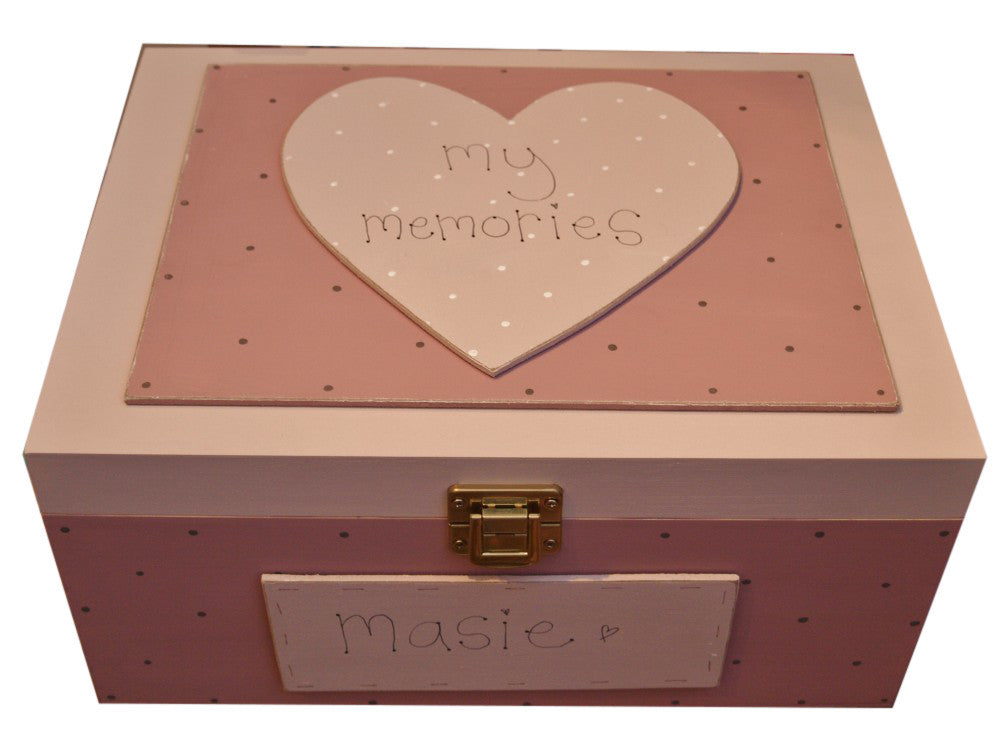 Keepsake Box Lg - Heart 3690