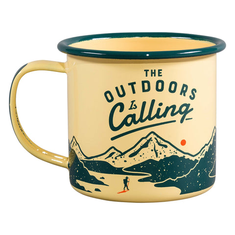 Enamel Mug - -Outdoors 8909