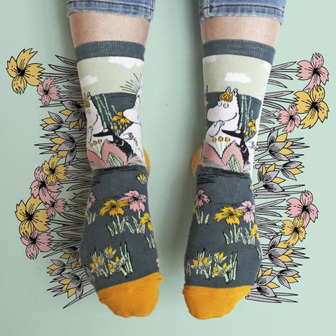 Disaster Moomin Socks - Lotus 11305