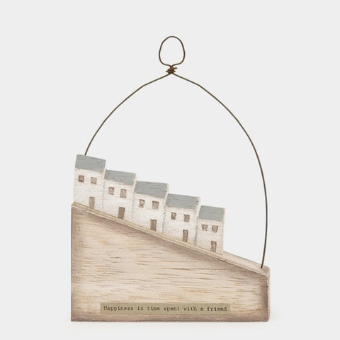 Wooden Scene - Hill Houses /Happiness 10915