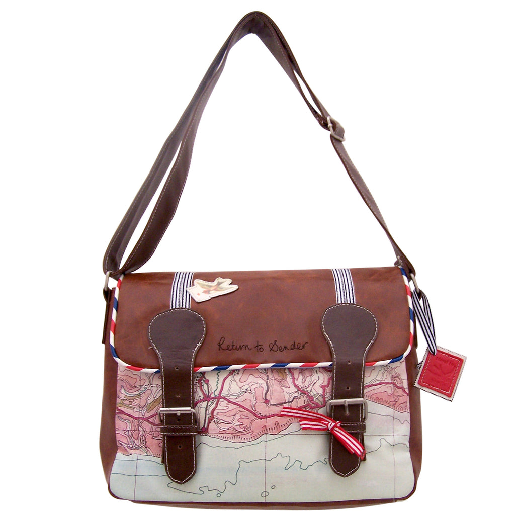 Disaster Paper Plane Satchel  10