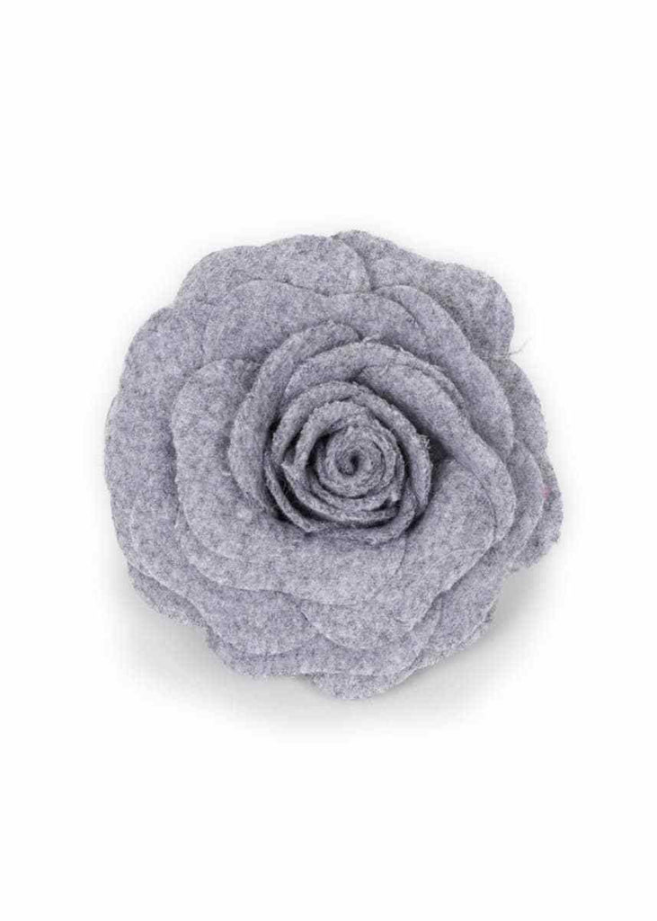 Brooch - Slate Rose 6899