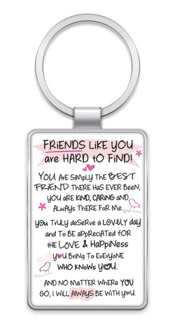 Inspired Words Keyring - Friends Like You 6447