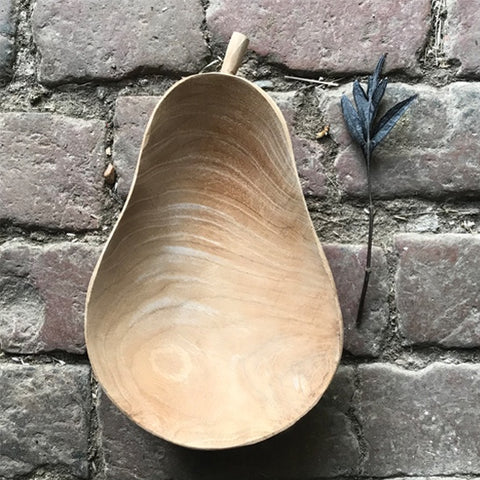 Pear Wood Bowl 9628