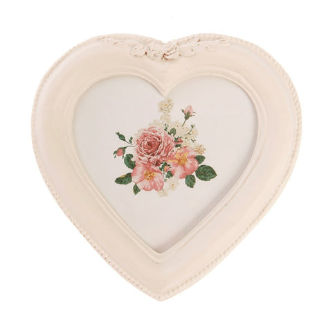 Antique Heart Ornate Photo Frame 5831