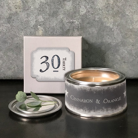 Boxed Candle - 30 9158