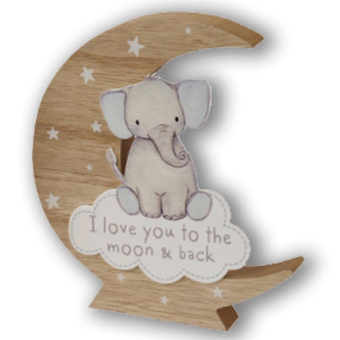Baby Moon Block - Blue 10046