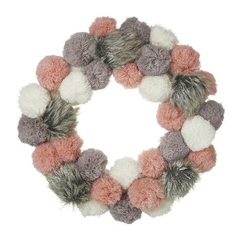 Christmas Pom Pom Wreath 8169