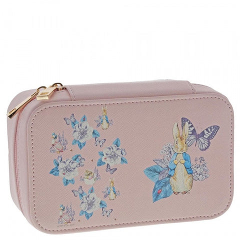 Beatrix Potter - Peter Rabbit Garden Party Jewellery Box (Pink) 8765