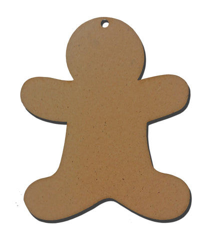 Gingerbread Man Wooden Blank 8441