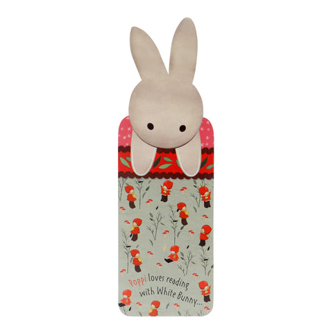 Poppi Loves Bookmark - Bunny 8118