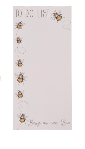 Bee To Do List Notepad 9455