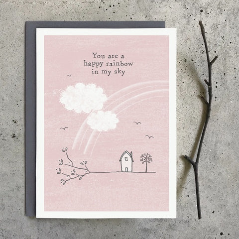 Greetings Twig Card - You are a Rainbow 10338