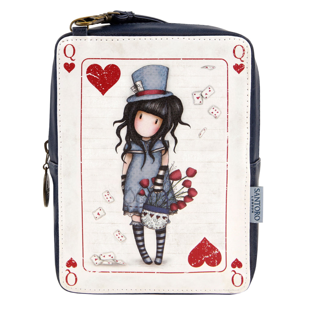 Gorjuss Rectangular Bag - The Hatter 8104