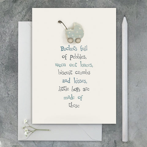 Baby Card - Pockets Full 1297