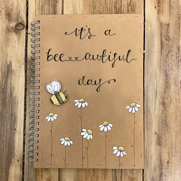 Handmade Notebook with Little Daisies - Bee-autiful Day 9894