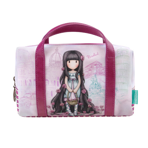 Gorjuss Suitcase Pencil Case - Rosebud 7505