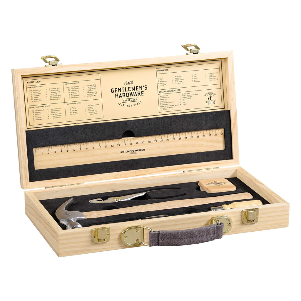 Tool Kit in Wooden Box 8907