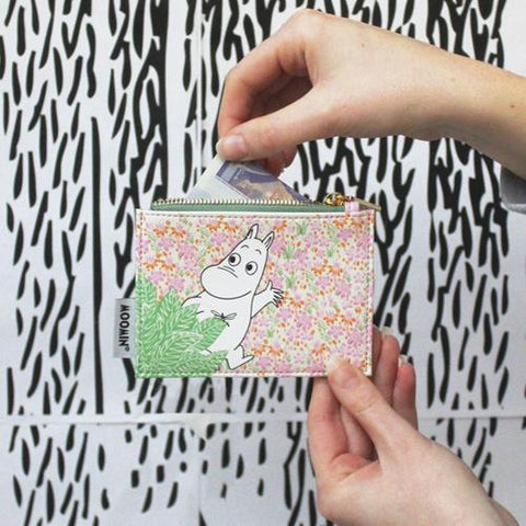 Moomin Zip Purse - Ditsy 11308