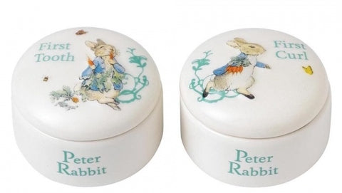 Beatrix Potter - Peter Rabbit Tooth & Curl Box 7299