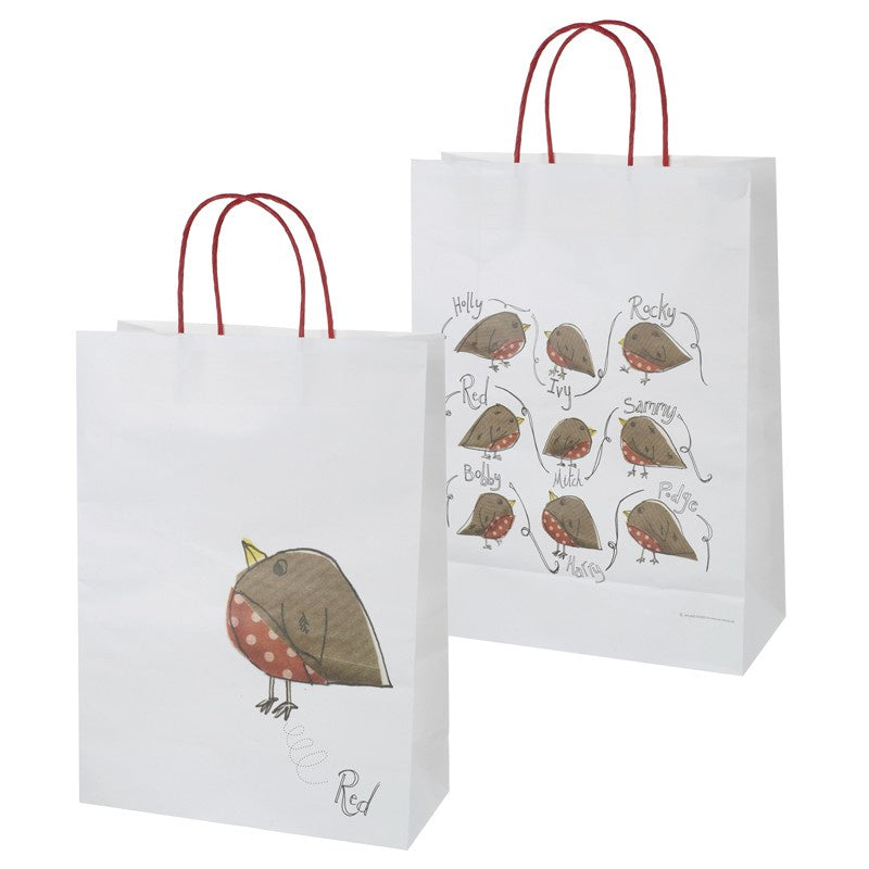 Christmas Paper Carrier - Robin 9440