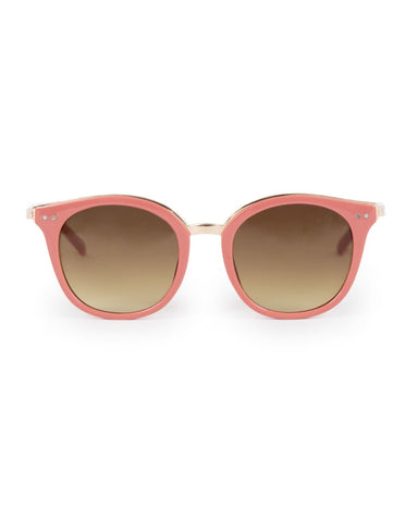 Powder Sunglasses Adele in Coral & Gold 7850