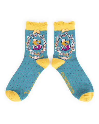 Powder Ankle Sock - S 8020