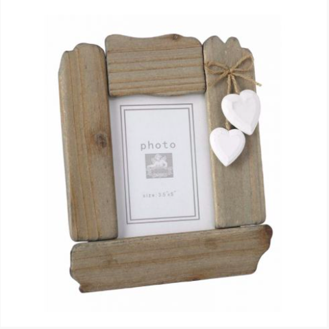Picture Frame with Hearts 9568