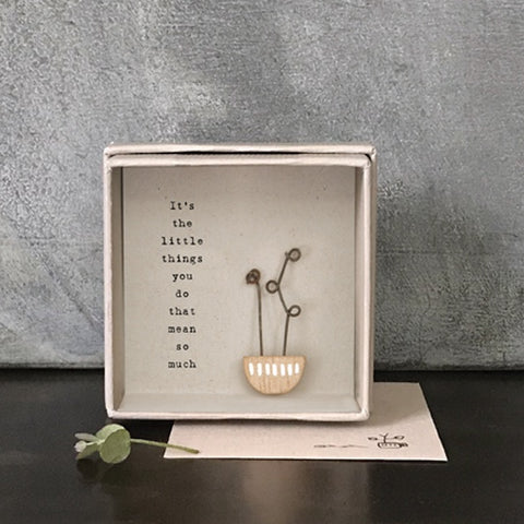 Boxed Card - Flower / Little Things 10203