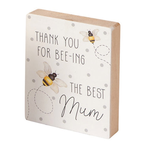 Mum Bee Block - Bee-ing the Best Mum 9688