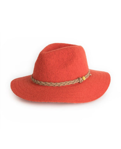 Powder Hat - Katie in Tangerine 6779