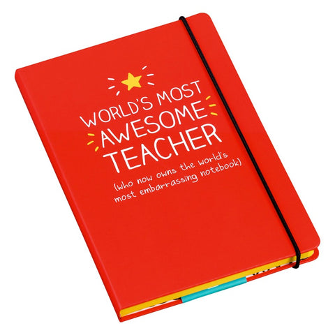 A5 Notebook - Awesome Teacher 7804