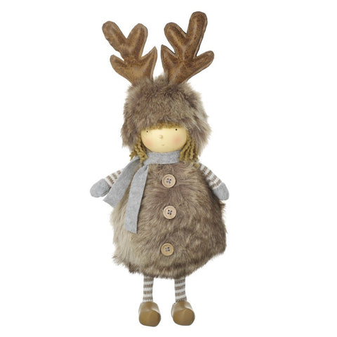 Standing Figure in Reindeer Outfit 6791