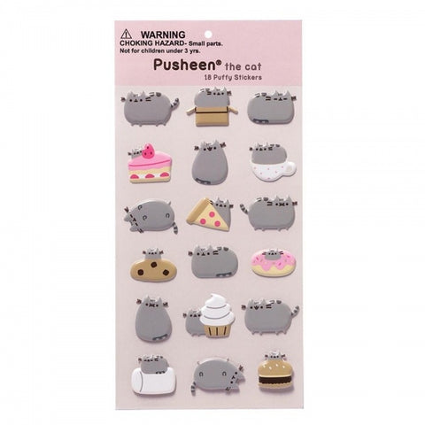 Pusheen Sticker Sheet 7115
