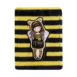 Gorjuss Furry Notebook - Bee-Loved 9018