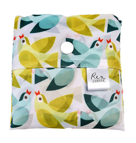Foldaway Shopper Bags - Love Birds 11201