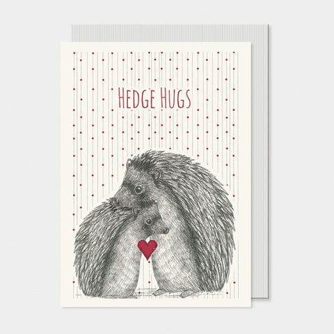 Card - Hedgehog Hugs 5680