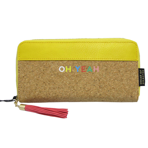 Disaster Smile Wallet - Oh Yeah 7834