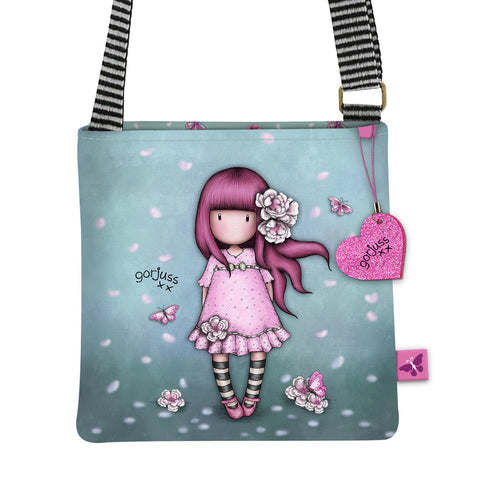 Gorjuss Cherry Blossom Sm Shoulder Bag 10168